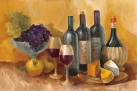 Wine and Fruit I v2 Fine Art Print