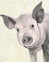 Oink Pink Crop Fine Art Print