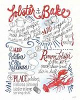 Seafood Shanty V Fine Art Print