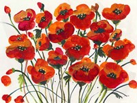 Poppin Up Poppies Fine Art Print