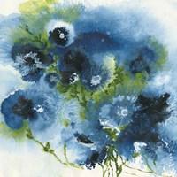 Blue Explosion Fine Art Print