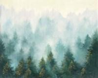 Misty Forest Fine Art Print