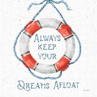 Nautical Life VI No Stripes Fine Art Print