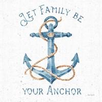 Nautical Life IV No Stripes Fine Art Print