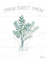 Farmhouse Cotton V Framed Print