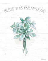 Farmhouse Cotton VI Framed Print