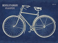 Blueprint Bicycle v2 Fine Art Print