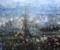 Blue Paris Fine Art Print