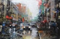 Montreal Rain Fine Art Print