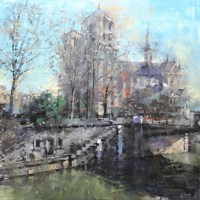 Notre Dame on the Seine Fine Art Print