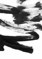 Black and White Strokes 5 Fine Art Print