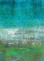 Green Oasis Fine Art Print