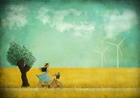 Bike Ride Fine Art Print
