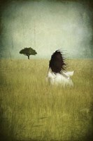 Girl on the Field Fine Art Print