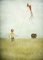 Kite Runner Fine Art Print