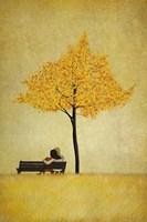 The Cherry Tree - Fall Fine Art Print