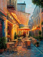 Cafe Van Gogh 2008, Arles France Fine Art Print