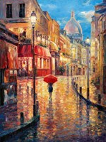 Montmartre Evening Fine Art Print
