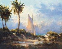 Manasota Key Returning Fine Art Print