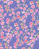 Cherry Blossom Blue Fine Art Print