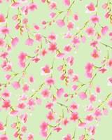 Cherry Blossom Green Fine Art Print