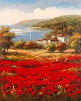 Poppy Harbor Fine Art Print