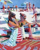 Beach Gossip Fine Art Print