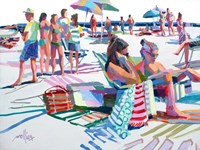 Beach Party Fine Art Print