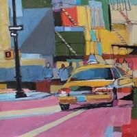 Midtown Mosaic Fine Art Print