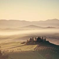 Tuscan Sunrise Fine Art Print