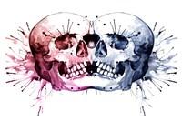 Conjoined Skull Fine Art Print