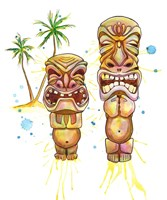 Freaky Tiki Fine Art Print