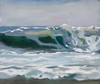 Shore Break 2 Fine Art Print
