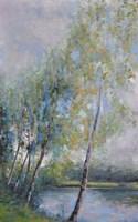 Poetry on Riverbank Fine Art Print