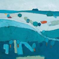 Blue Hills Fine Art Print