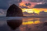 Cannon Beach Sunset Fine Art Print