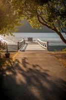 Crescent Lake Pier Fine Art Print