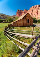 Utah Barn Fine Art Print