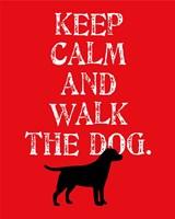 Keep Calm (Labrador) Fine Art Print