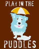 Play in the Puddles Fine Art Print