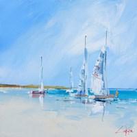 Aspendale Sails 1 Fine Art Print