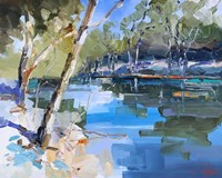 Bank on the Murray Fine Art Print