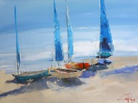 Before The Sail Fine Art Print