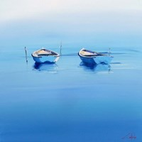 Late Moorings Fine Art Print