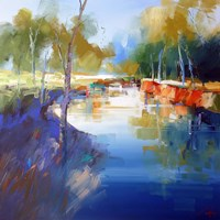 Morning at Cobram Fine Art Print