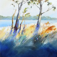 Murray River Bank Fine Art Print