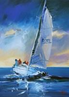 Night Sail Fine Art Print