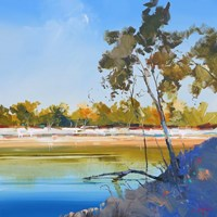 River Bank Fine Art Print