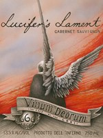 Lucifer's Lament Fine Art Print