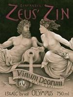 Zeus' Zin Fine Art Print